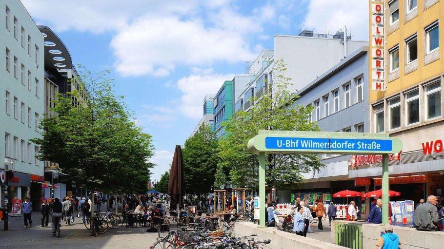 Seit 1978 kauft Charlottenburg in der Fußgängerzone der Wilmersdorfer Straße ein. Dieses Bild stammt vom vorigen Freitag.
