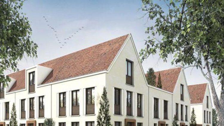 Die Häuser und Wohnungen der Gartenstadt Karlshorst sollen bis 2016 bezugsfertig sein.