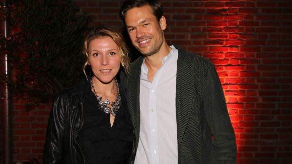 """Franziska Weisz (""""Hundstage"""") hatte ihren Freund, den Regisseur Felix Herzogenrath, mitgebracht."""