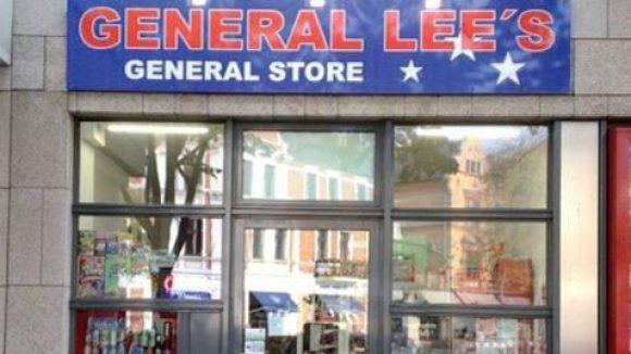 Amerikanische Produkte in Zehlendorf: Das General Lee's in der Potsdamer Straße.