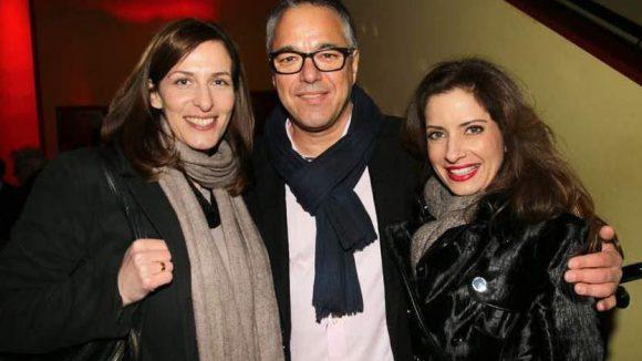 Hauptdarsteller Charles Rettinghaus wurde von seinen Kolleginnen Ulrike Frank (links) und Isabel Florido in die Mitte genommen.