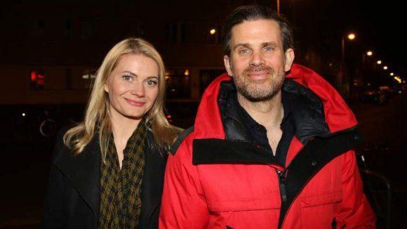 ... Steffen Groth und seine Liebste Ana Grosse Halbuer ...