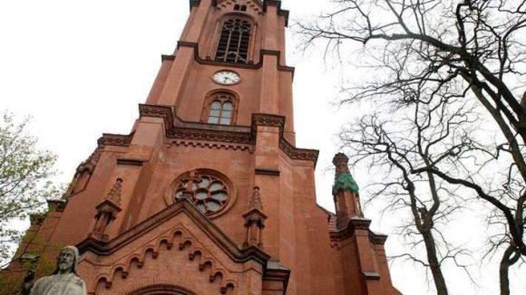 Auf den ersten Blick sieht die Gethsemanekirche ja noch recht stattlich aus. Doch der Sakralbau bedarf dringend einer Sanierung.