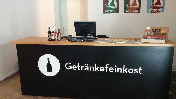 Die erste Filiale von Getränkefeinkost in Berlin hat Ende Januar 2014 eröffnet.