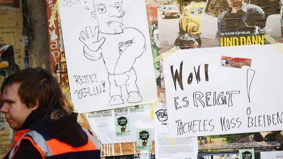 Gezerre um das Kunsthaus Tacheles. Nach der Schließung am Donnerstag haben die Künstler vor Gericht eine einstweilige Verfügung erwirkt.