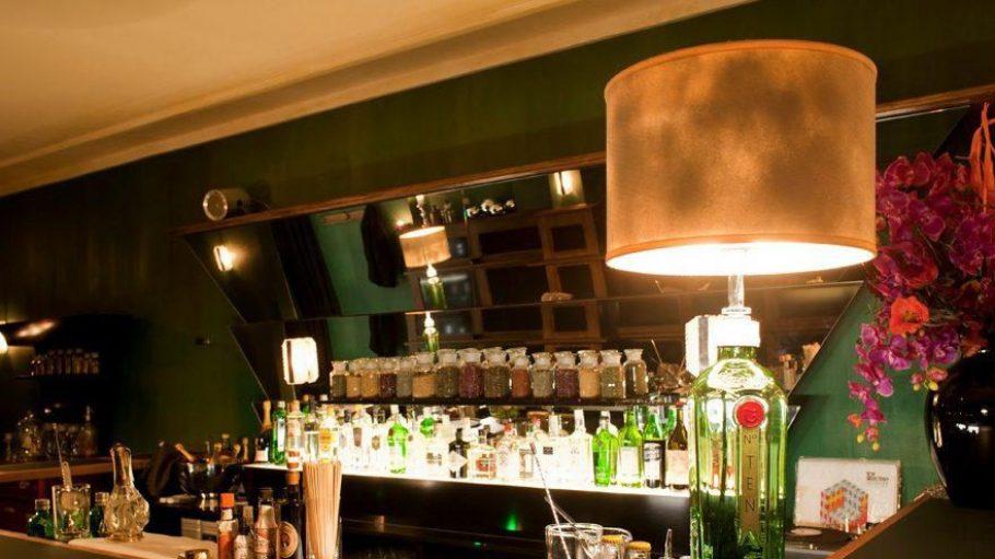 Typischer Brit-Chic erwartet die Gäste der G&T Bar.