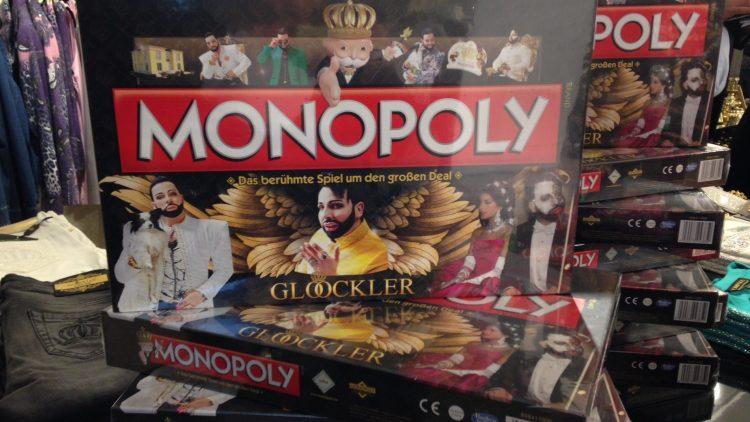 Und so sieht die Glööckler-Monopoly-Edition aus.