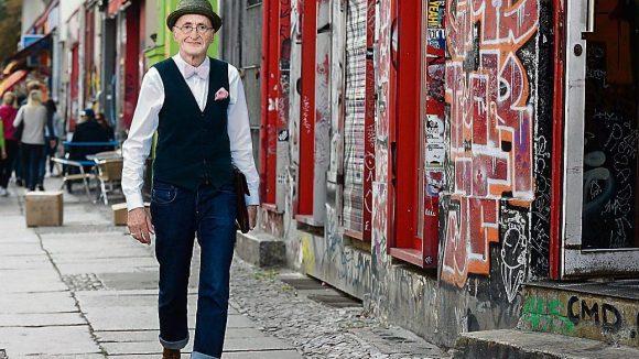 Günther Anton Krabbenhöft, Berliner und Hipster, wurde zum Internet-Phänomen.