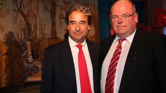 Preisträger und Ex-Kanzler-Sohn Walter Kohl (r.) wurde von dem mit ihm befreundeten Coach und Hüttenwirt Rudolf Wötzel gelobt.