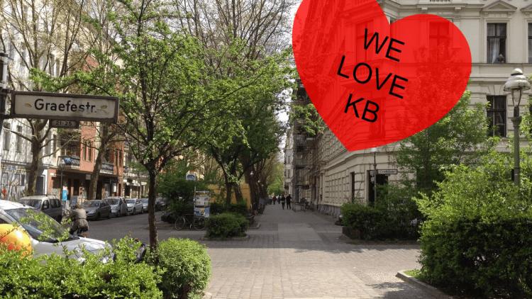 Wir lieben unseren Kiez rund um die Graefestraße! Lies hier, warum ...