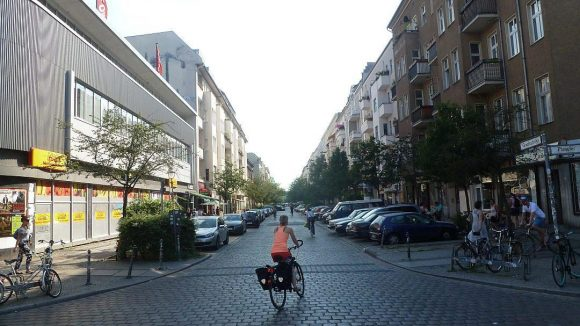 Die Graefestraße: Auch im Sommer zum Flanieren geeignet.