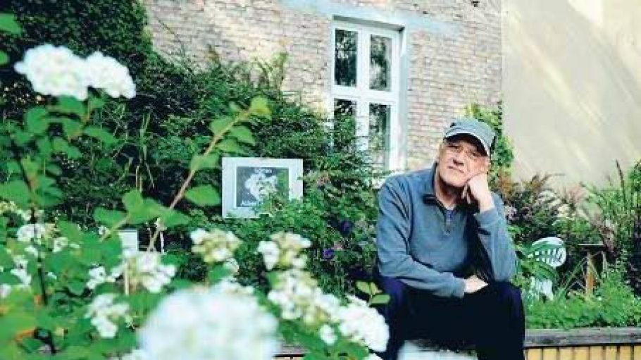 Zu Ehren Einsteins hatte Gregorio Ortega Coto hinter dem Haus in der Haberlandstraße schon einen Garten angelegt.