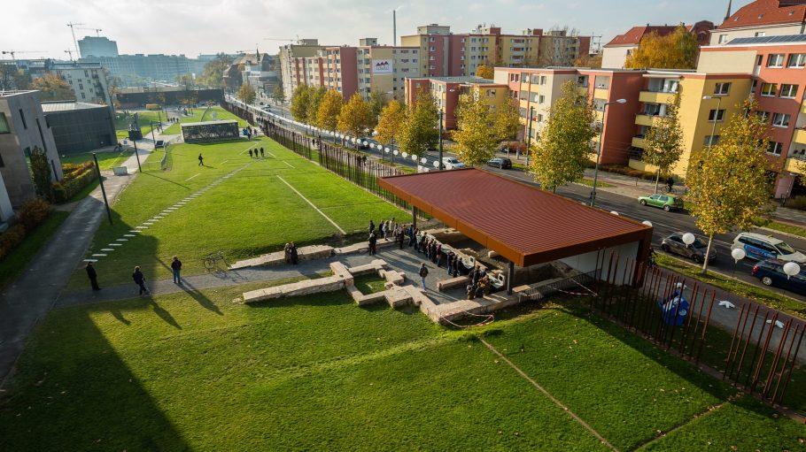 Das Grenzhaus ist ein Teil der Gedenkstätte Berliner Mauer an der Bernauer Straße.