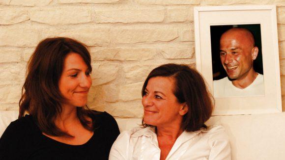 """Die Gründerinnen von """"domerang"""": Britta Bartelt (l.) und Maria Mpalaoura."""