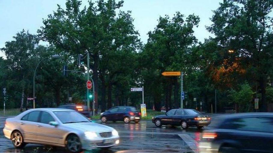 Grüne Ausfallstraße: Die Potsdamer Chaussee in Zehlendorf