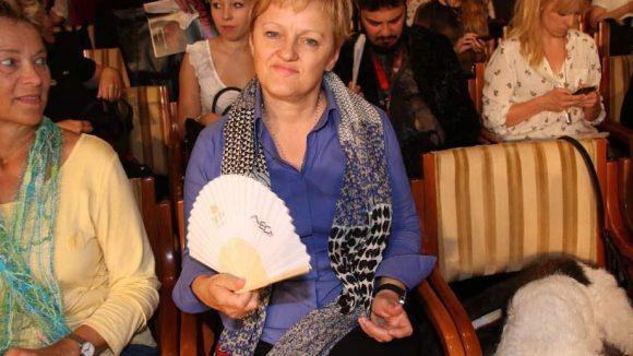 Auch Grünen-Politikerin Renate Künast war da.