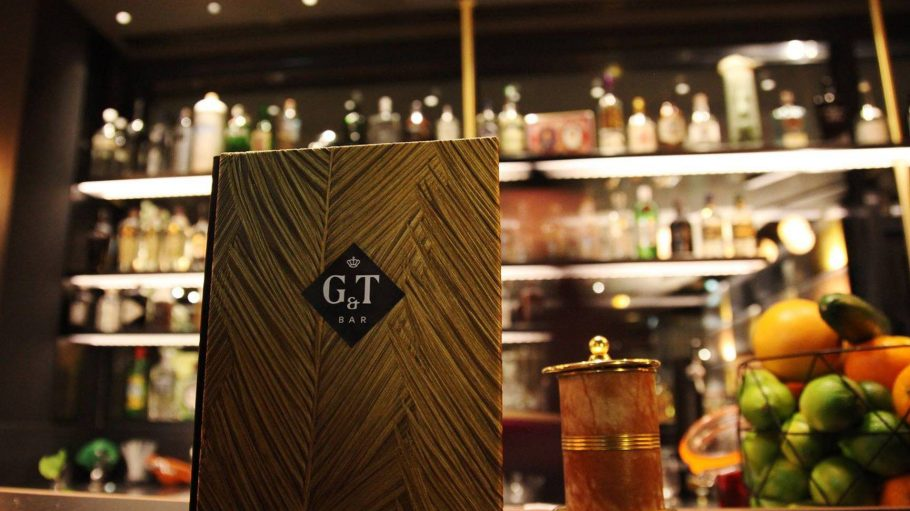 Die G&T Bar in ihrem neuen Domizil, dem Hotel ZOE, dem vierten Familienmitglied der AMANO Group.