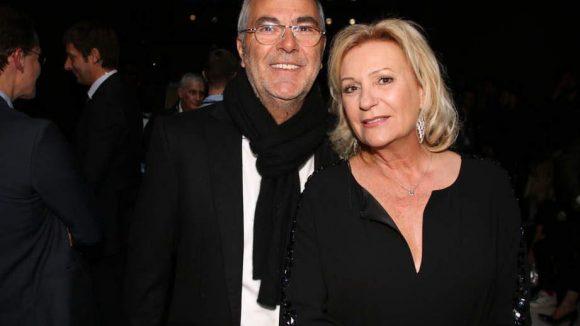 Sabine Christiansen hatte ihren Mann Norbert Medus mitgebracht.
