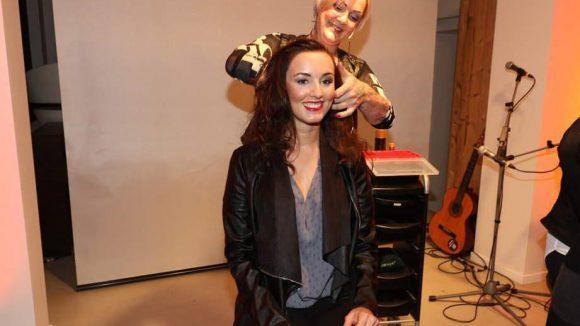 Unter ihnen auch Miss Berlin 2013 Sandra Wuttke.