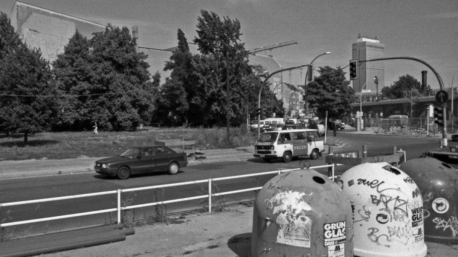 Hackescher Markt in Mitte, 1996.