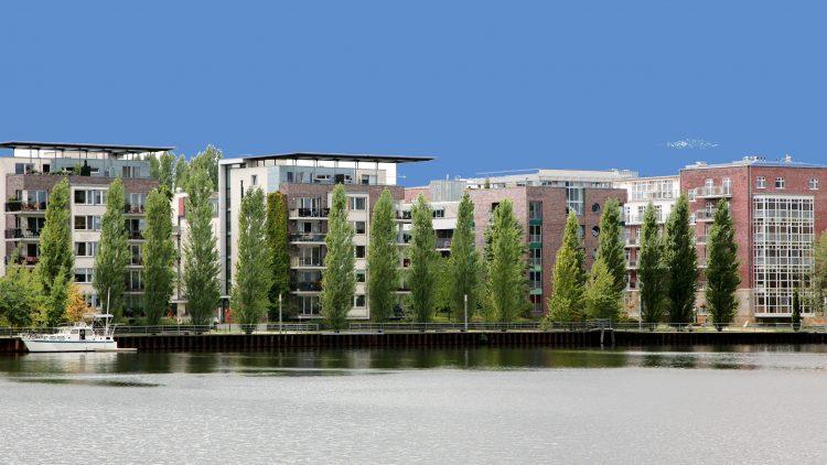 Die Halbinsel Stralau: Im Jahr 2000 wurde sie als olympisches Dorf präsentiert.