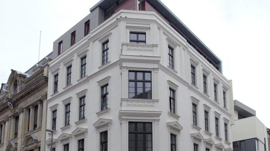 Die Hamburger Landesvertretung in Berlin - gebaut 1925 als Haus für den Club von Berlin.