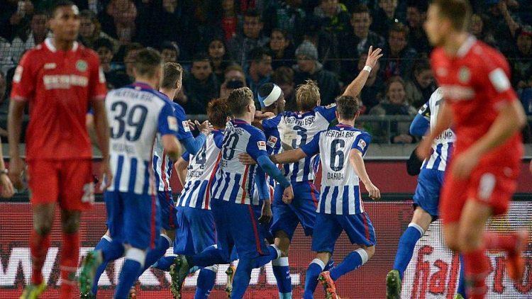 Weiter, immer weiter ... nach oben? Hertha BSC steht nach dem Auswärtssieg in Hannover so gut da wie lange nicht.