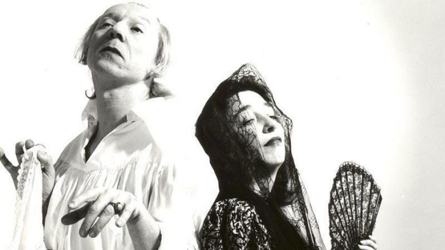 Hans-Jürgen Frintrop und Barbara Wiktor vom Bedlam Theater.