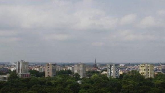 Die Punkthäuser gehören zu den Wahrzeichen des Hansaviertels, das mehrere Bürgerinitiativen gemeinsam mit der Karl-Marx-Allee fürs Weltkulturerbe vorschlagen wollen.