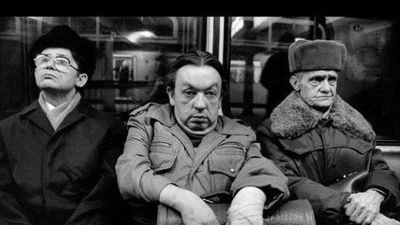 U-Bahnlinie A, Ost-Berlin 1986, DDR.