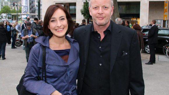 """Meike von Bremen (Ex-""""GZSZ""""-Darstellerin) kam mit Schauspielkollege Michael Schiller."""