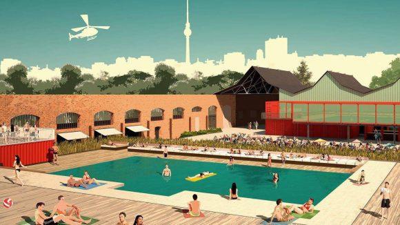 Der Pool im Haubentaucher wird beheizt und somit auch bei kühleren Temperaturen benutzbar sein.