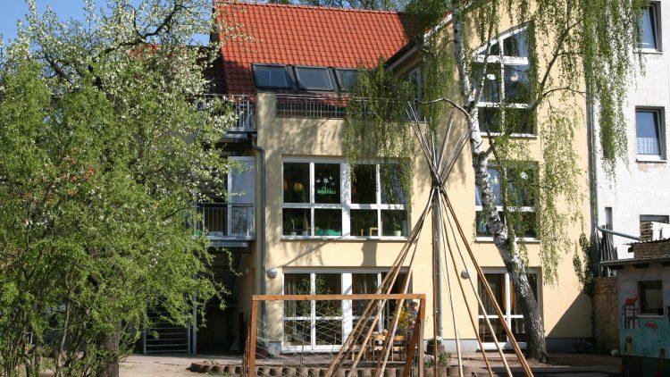 Das Haus Cato Bontjes van Beek: Kinderladen mit Kulturveranstaltungen
