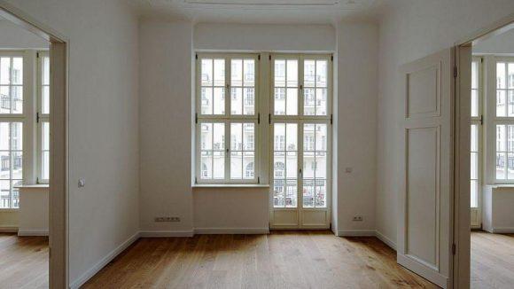 Hell und mit Balkon: Wohnen im Haus Cumberland.