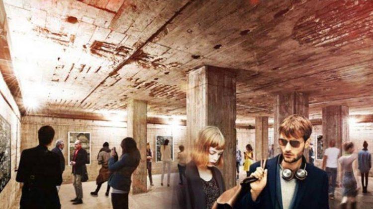 """In der Alten Münze soll bald Berlins Kreativszene zusammenkommen. Mit dem Projekt """"Haus of Berlin"""" könnte auch das Untergeschoss wieder zugänglich sein."""