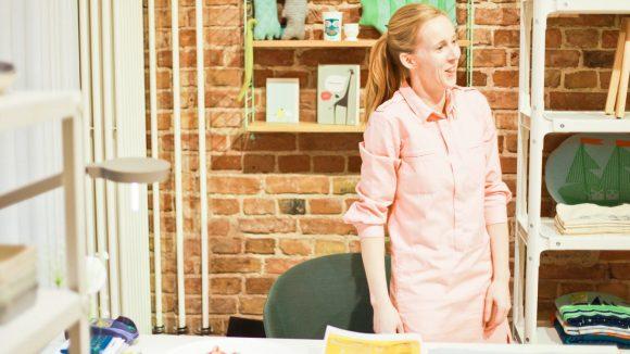Mitinhaberin des Stores marron und Stil-Expertin Sandra Baumer