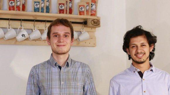 Die beiden koawach-Gründer Heiko Butz (l.) und Daniel Duarte.