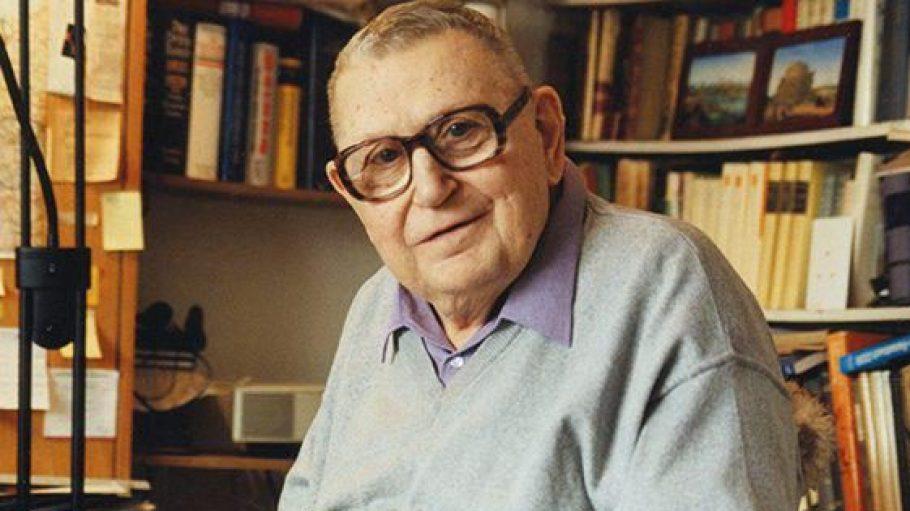 Heinz Knobloch liebte seine Bücher.