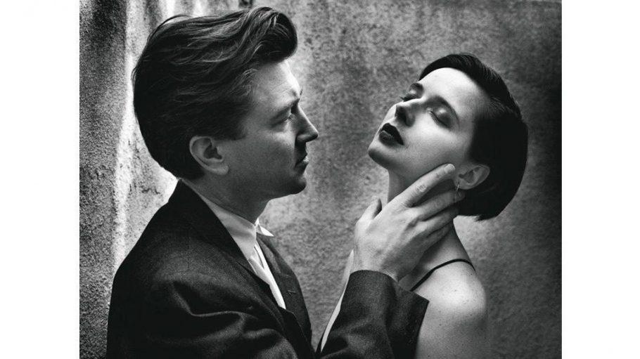 Helmut Newton: David Lynch und Isabella Rossellini, Los Angeles, 1983.