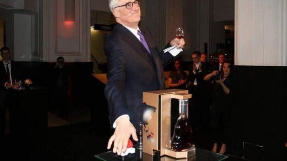 Den Startschuss für die Installation gab Maurice Henessy, der Erbe der berühmten Cognac-Dynastie.