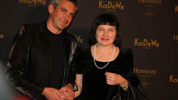 Wladimir und Olga Kaminer sind schon länger ein Paar.