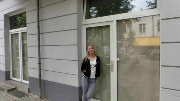 In der Simon-Dach-Straße 9 befand sich bis vor Kurzem mit dem Cortado das Lieblingscafé der Schauspielerin.
