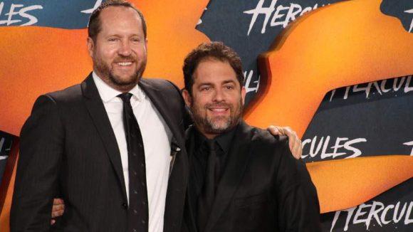 Die zwei starken Männer hinter Herkules: Produzent Beau Flynn (l.) und Regisseur Brett Ratner.