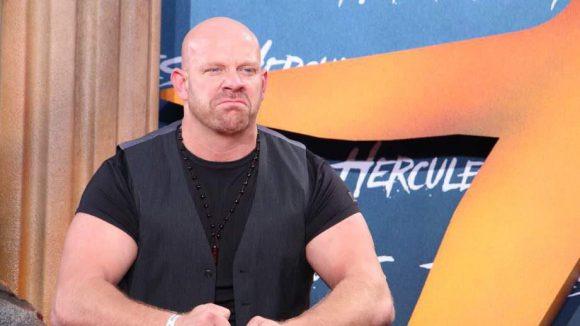 Noch ein starker Mann: Wrestler Karsten Kretschmer.