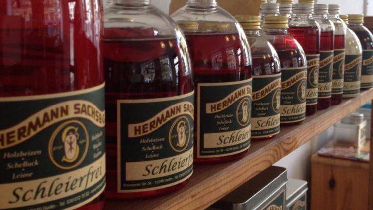 Schleierfrei: eines der bekanntesten Produkte aus der Hermann Sachse Manufaktur.