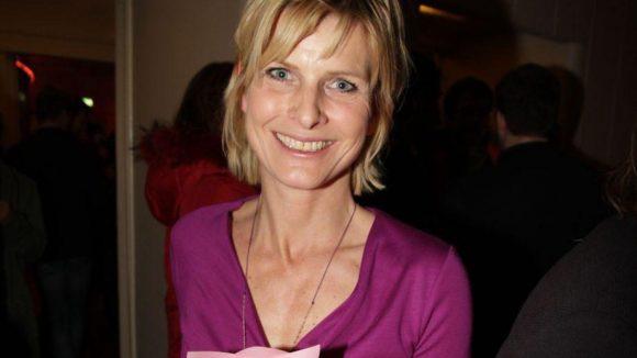 """""""Heute""""-Moderatorin Barbara Hahlweg führte durch den Abend."""