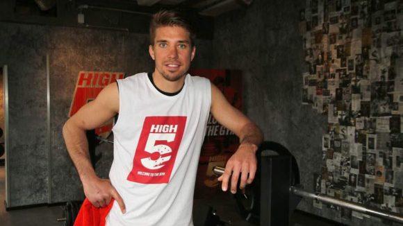 ... Basketballer Steffen Hamann ...