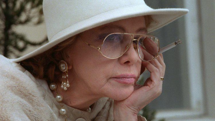 Die Diva Hildegard Knef im April 1994.