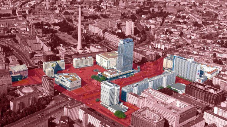 Dieses Gebiet soll acht neue Hochhäuser bekommen.