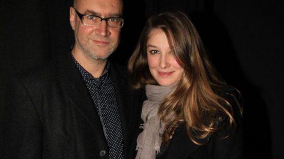 """Und noch ein letzter Abstecher in die Hackesche Höfe Kinos: Dort war die hochschwangere Alexandra Maria Lara zu Gast, um ihren Film """"Imagine"""" zu promoten. Hier mit im Bild ist Regisseur Andrzej Jakimowski."""